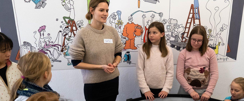 Besuch im Kinderfilmhaus