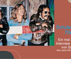 Schule in den 70ern – Interview mit Herrn von Sanden